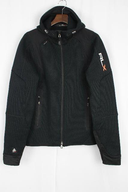 RLX ラルフローレン [ RALPH LAUREN ] ジップアップ パーカー ブラック 黒 長袖 SIZE[M] メンズ トップス