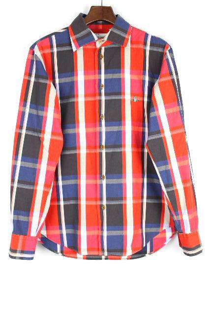 ヴィヴィアンウエストウッドマン [Vivienne Westwood MAN ] チェック柄 長袖 シャツ SIZE[48] メンズ トップス カジュアルシャツ