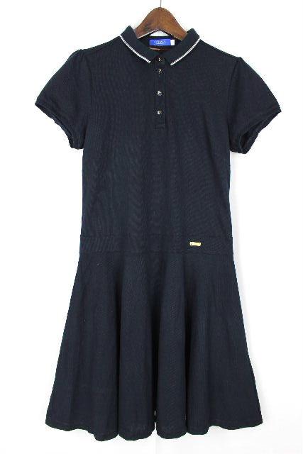ブルーレーベルクレストブリッジ [ BLUELABEL ] ポロシャツ ワンピース ネイビー 紺色 SIZE[38] レディース 鹿の子 ポロ ワンピ