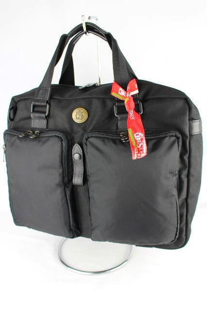 オロビアンコ デザルティカ [ DESERTIKA ] 3WAY ビジネスバッグ 黒 ショルダーバッグ ブリーフケース リュックサック 書類バッグ
