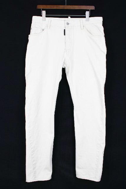 ディースクエアード [ DSQUARED2 ] リペア加工 チノパンツ ベージュ SIZE[48] メンズ ボトムス デニムパンツ