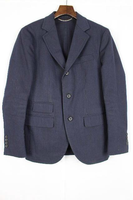 ユナイテッドアローズ [ ARROWS ] カジュアル テーラード ジャケット ネイビー 紺色 SIZE[S] メンズ トップス アウター