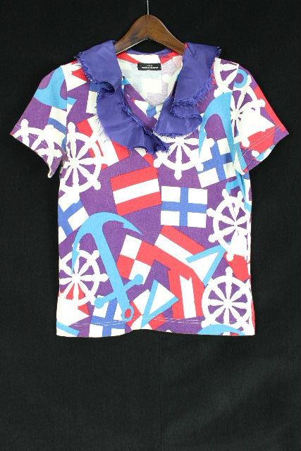 コムデギャルソン [ COMME des GARCONS ] 襟付き カットソー 半袖 レディース トップス Tシャツ