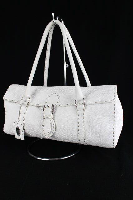 フェンディ [ FENDI ] セレリア リンダ バッグ ホワイト 白 ハンドバッグ ショルダーバッグ