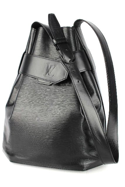 ルイヴィトン [ LOUISVUITTON ] エピ サックデポールGM 黒[ M80155 ] 巾着ショルダーバッグ ヴィトン