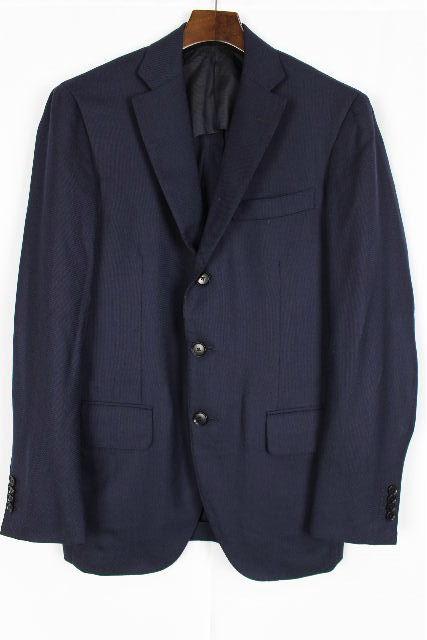 トゥモローランド ゼニア [ TOMORROWLAND Zegna ] テーラードジャケット ネイビー SIZE[46] メンズ ブレザー 紺色 シングルジャケット