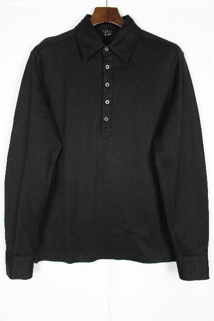 セオリー [ theory ] ポロシャツ カットソー ブラック 黒 長袖 SIZE[S] メンズ 男性用 紳士用 ニット セーター