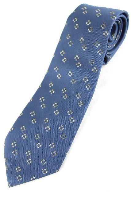 エルメス [ HERMES ] Hロゴ ネクタイ ネイビー 紺色