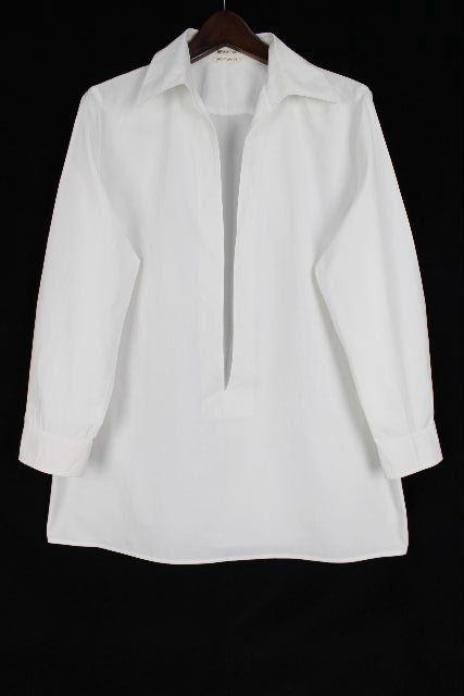 エルメス [ HERMES ] シャツ ブラウス ホワイト 白 長袖 SIZE[38] レディーストップス プルオーバー