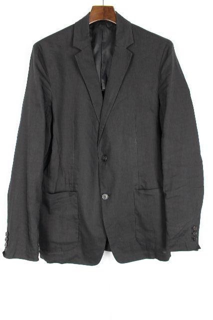 セオリー [ theory ] リネン カジュアルジャケット ブラック 黒 SIZE[38] メンズ テーラードジャケット