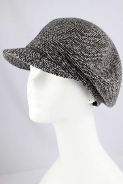 ボルサリーノ [ Borsalino ] ツイード キャスケット帽子 グレー SIZE[58cm] レディース 帽子 ハット