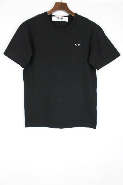 コムデギャルソン [ comme des garcons ] ハート Tシャツ ブラック 黒 半袖 SIZE[M] メンズ トップス カットソー