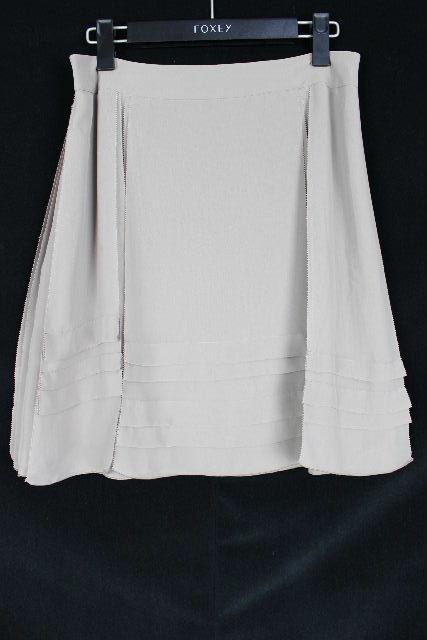 フォクシー NY [ FOXEY ] シフォン フリルスカート モカ SIZE[40] レディース ボトムス フレアースカート スカート