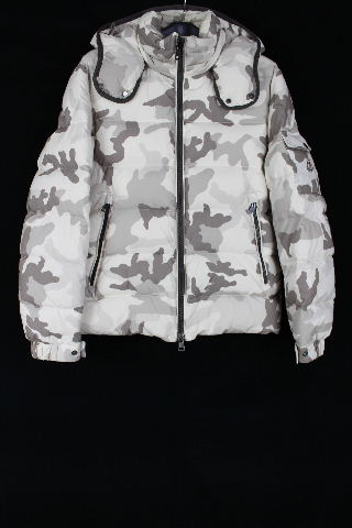 モンクレール [ MONCLER ] カモフラージュ フード付き ダウンジャケット SIZE[1] メンズ ダウンコート CHIMAY(シメイ) 迷彩柄