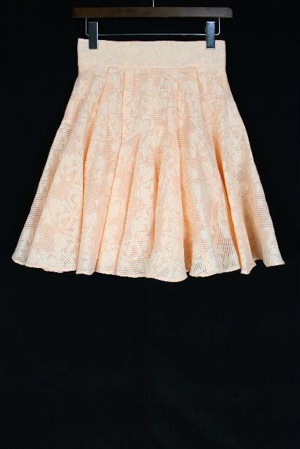 ブルマリン / ブルーガール [ Blumarine ] フレアースカート ピンク系 オレンジ系 SIZE[I38 D32] レディース ボトムス フリルスカート スカート