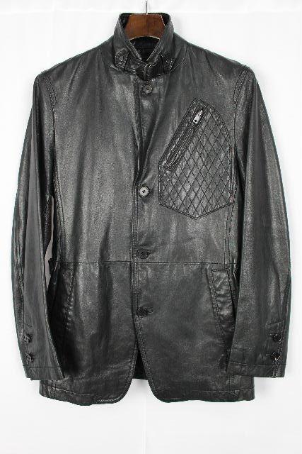 ジョセフ [ JOSEPH ] レザー ジャケット ブラック 黒 SIZE[44] メンズ アウター コート