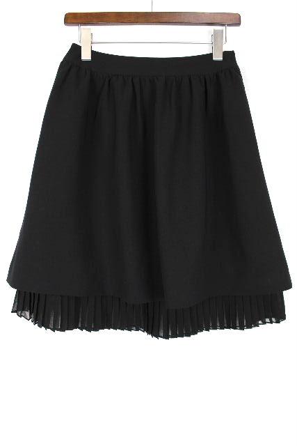 ルネ [ Rene ] フレアースカート ブラック 黒 SIZE[36] レディース ボトムス プリーツスカート
