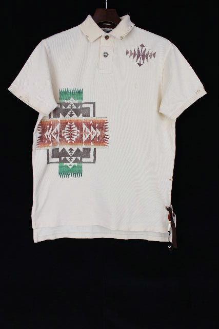ラルフローレン [ Ralph Lauren ] インディアン リメイク CUSTOM FIT ポロシャツ 半袖[S] メンズ トップス コンチョ カットソー