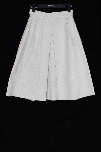 フォクシー NY [ FOXEY ]フレアースカート オフホワイト SIZE[40] レディース ボトムス プリーツスカート スカート