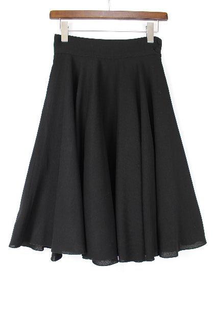 フェンディ [ FENDI ] フレアースカート ブラック 黒 SIZE[38] レディース ボトムス ニットスカート