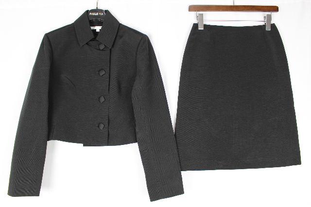 ポールカ [ PAULE KA ] セットアップスーツ ブラック 黒 SIZE[40 36] レディース ジャケット スカート