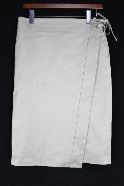 ドゥロワー [ Drawer ] ストレッチ リボンスカート グレー系 SIZE[36] レディース ボトムス スカート
