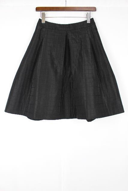 コトゥー [ COTOO ]キルティング フレアースカート ブラック 黒 SIZE[38] レディース ボトムス スカート