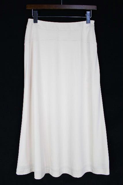 レオナール [ LEONARD ] ロゴ刺繍 ストレッチスカート ベージュ SIZE[67] レディース ボトムス スカート