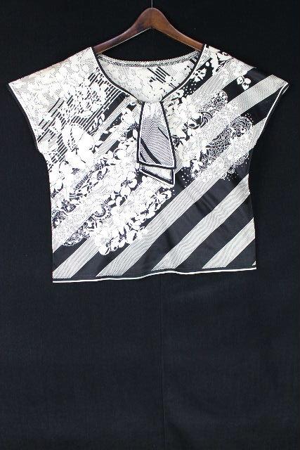 レオナール [ LEONARD ] フラワー リボン プルオーバー カットソー半袖 SIZE[LL] レディース トップス Tシャツ 花柄