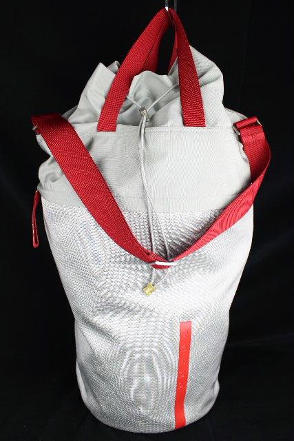 プラダスポーツ [ PRADA ] メッシュ ボストンバッグ シルバー メンズ プラダ ショルダーバッグ トートバッグ
