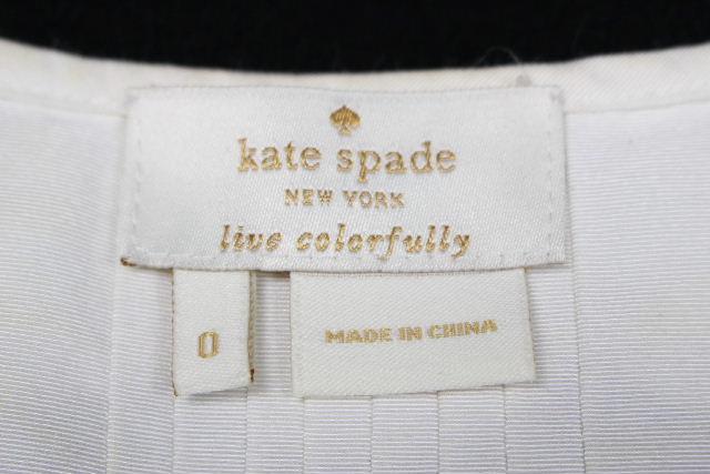 買取実績タイトル ケイトスペード [ katespade ] ペプラム シャツ ブラウス ホワイト 白 半袖 SIZE[0] レディース トップス