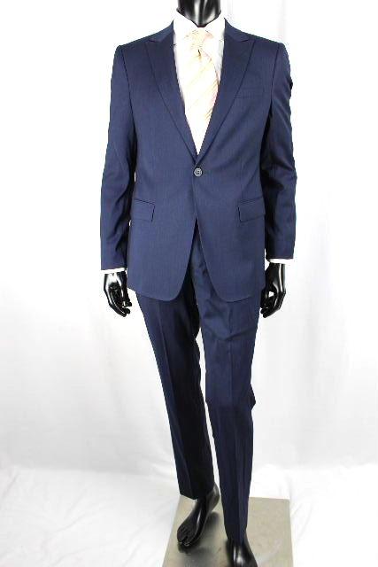 エンポリオアルマーニ [ ARMANI ] DAVID LINE Super120s シングル スーツ 紺色 メンズ ジャケット スラックスパンツ アルマーニ