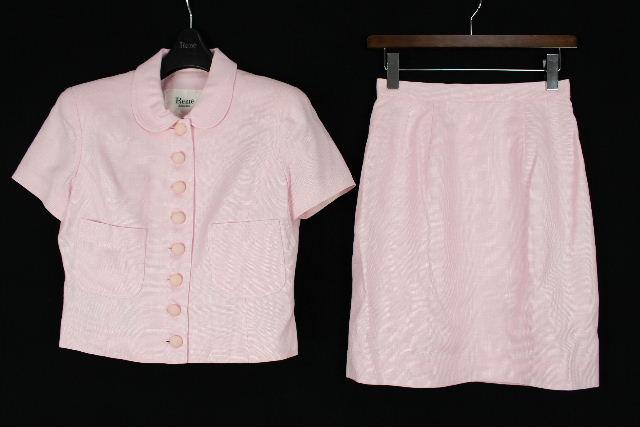 ルネ TISSUE [ Rene ] セットアップスーツ ピンク SIZE[9] レディース ジャケット スカート