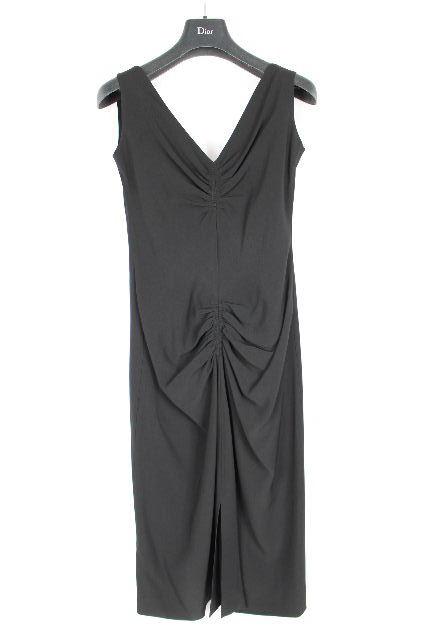 クリスチャンディオール [ Christian Dior ] ノースリーブ ワンピース ブラック 黒 レディース ドレス ワンピース ディオール