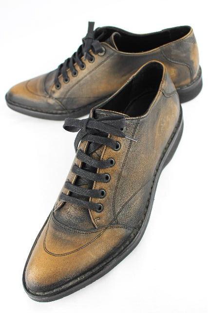 エンポリオアルマーニ [ EMPORIO ARMANI ] イーグル レザー シューズ ブラウン 茶色系 SIZE[41] メンズ 紳士靴 アルマーニ