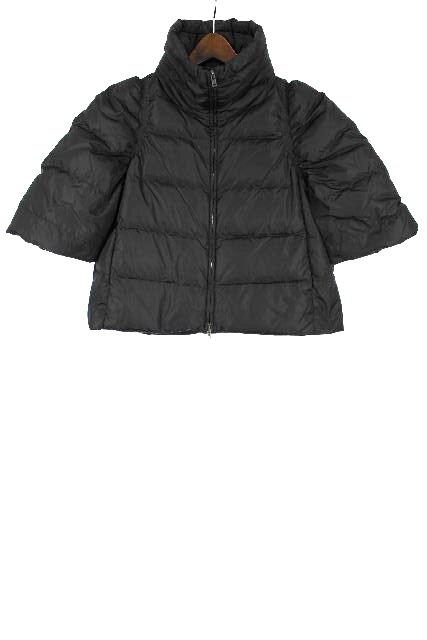 ミュウミュウ [ MIUMIU ] ダウンジャケット ブラック 黒 SIZE[40] レディース アウター ショート コート