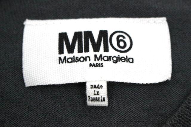 MM6 マルタンマルジェラ [ Margiela ] 2017 フリル ニット セーター グレー 長袖 SIZE[S] レディース トップス カットソー メゾンマルジェラ