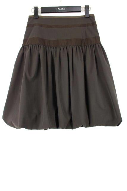 フォクシーNY [ FOXEY ] フレアースカート ブラウン 茶色 SIZE[38] レディース ボトムス スカート フォクシー