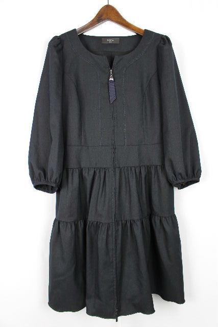 マドーレ [ Madre ] フリルワンピース ネイビー 紺色 SIZE[40] レディース フレアーワンピース ワンピ