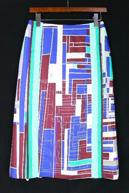 エミリオプッチ [ EMILIOPUCCI ] ロゴ 幾何学模様 マーメイドスカート レディース ボトムス スカート
