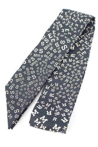エルメス [ HERMES ] ロゴ トゥイリー リボンスカーフ ブラック 黒 ツイリー ツィイリー トゥイーリー