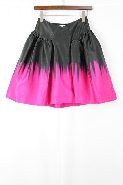 ミリー [ MILLY ] パニエ フレアースカート 黒ピンク SIZE[0] レディース ボトムス スカート