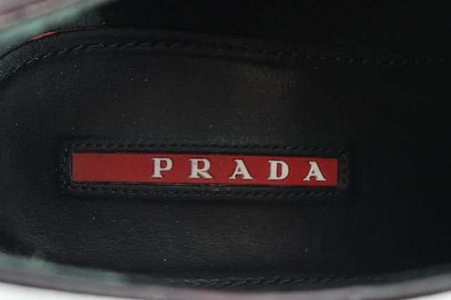 プラダスポーツ [ PRADA ] レザー マーチン シューズ SIZE[35.5] レディース プラダ スニーカー