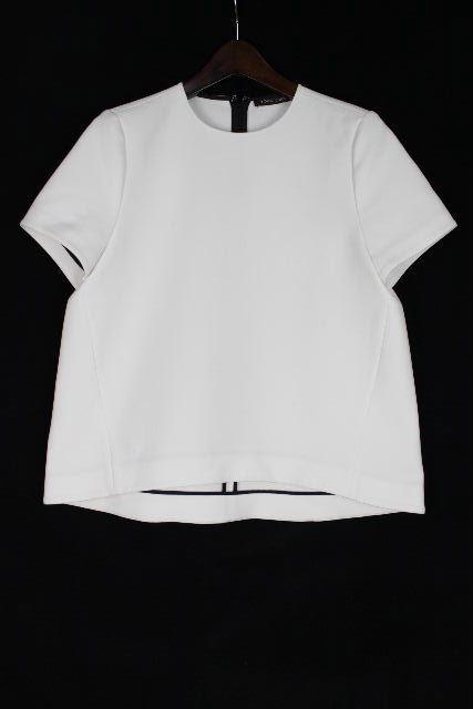 ヨーコチャン [ YOKOCHAN ] フレアー プルオーバー カットソー ホワイト 白 SIZE[38] レディース トップス 半袖