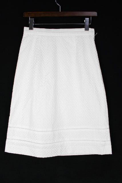 ハロッズ [ Harrods ] コットン フレアースカート ホワイト 白 SIZE[2] レディース ボトムス Aライン スカート