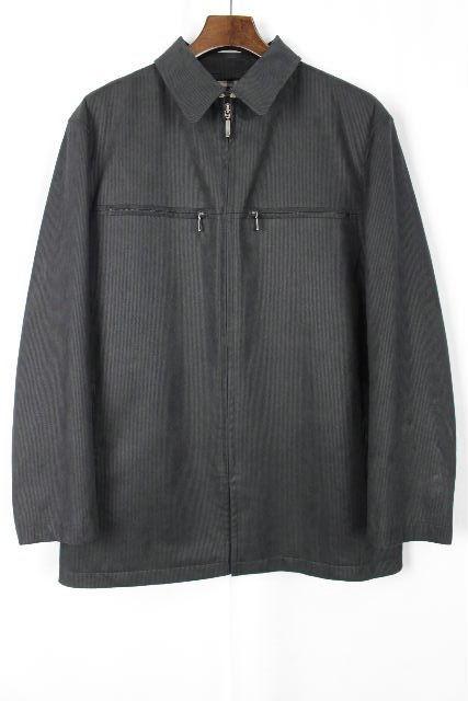 バーバリーロンドン [ Burberry ] エコレザー ジャケット コート 黒×チェック柄 SIZE[M] メンズ トップス アウター バーバリー