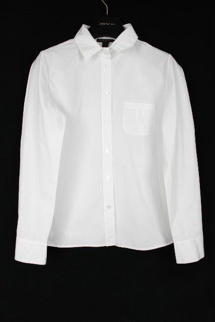 ルイヴィトン [ LOUISVUITTON ] シャツ ブラウス ホワイト 白 長袖 SIZE[38] レディース トップス ヴィトン ビトン