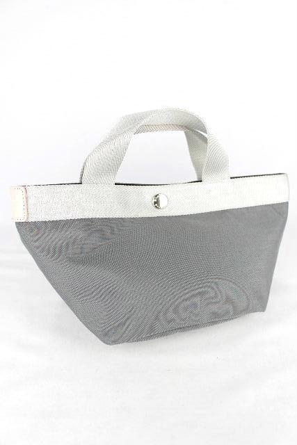 エルベシャプリエ [ Herve Chapelie ] 銀座シックス限定 トートバッグ グレー ハンドバッグ