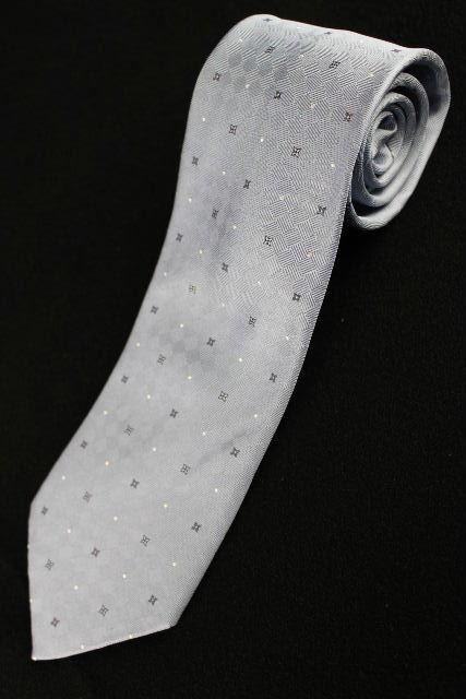 ルイヴィトン [ LOUISVUITTON ] ネクタイ ブルー 水色系 メンズ 男性用 紳士用 ヴィトン ビトン