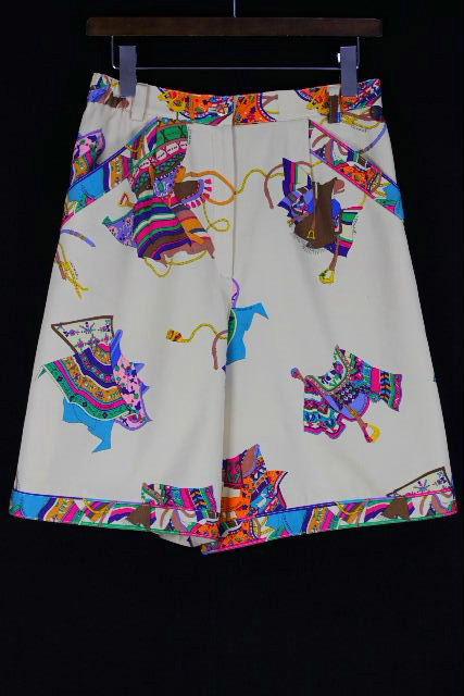 レオナール [ LEONARD ] キュロットパンツ ベージュ SIZE[M] レディース ボトムス ショートパンツ スカート